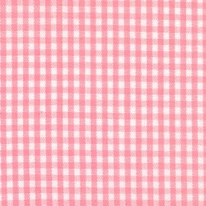 1/16  Gingham Pink Check Fabric