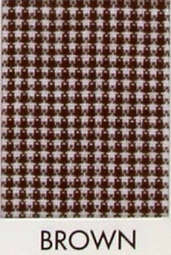 1/32 Gingham Micro Check  Poly Cotton - Brown - Spechler Vogel Textiles  Gingham Poly Cotton - Spechler Vogel Textiles