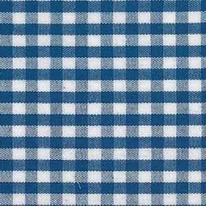 1/8 Gingham Nautical Check Fabric