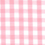 1/4 Gingham Pink Check Fabric
