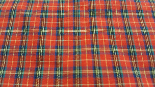 Mini Tartan Plaid 5558 by Spechler Vogel  Red - Blue - White