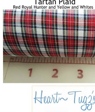 Tartan Plaid 5569 by Spechler Vogel Textiles