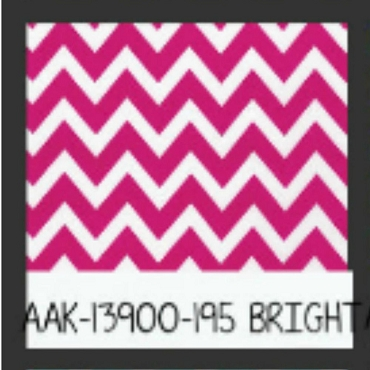 Bright Chevron by Robert Kaufman by the yard Hot Pink
