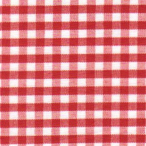 1/8 Gingham Red Gingham  Berry Red