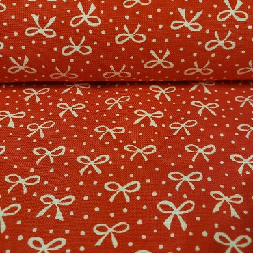 Best Friends Forever -  Just a Pretty Bow in Red - Stacy Iest Hsu - 100% Cotton Fabric - Moda Fabrics, 20627-14