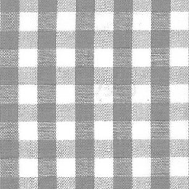 1/4 Gingham Gray  Check Fabric