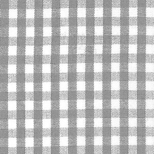 1/8 Gingham Gray Check Fabric