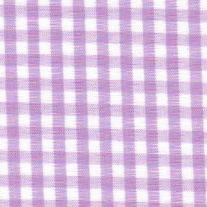 1/8 Gingham Lilac Check Fabric