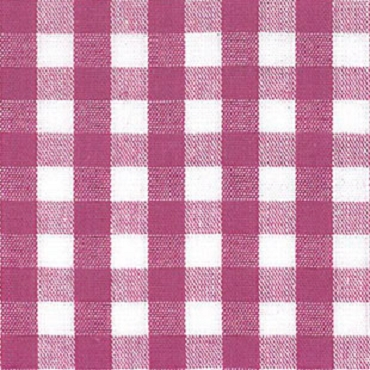 1/4 Gingham Magenta Check Fabric