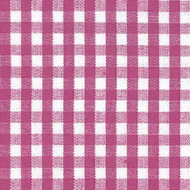 1/8 Gingham Magenta Check Fabric