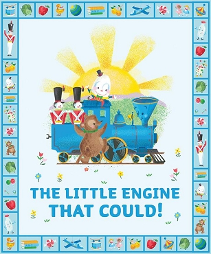 The Little Engine That Could PANEL
