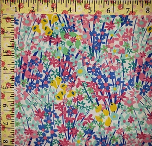 West Palm by Katie  Skoog AGF Fabrics Seaside Garden Algae WPA-54503