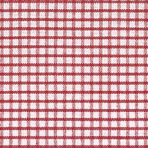 Windowpane -  Berry Red Windowpane Check