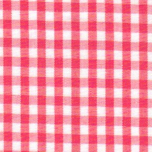 1/8 Gingham  Watermelon Check Fabric