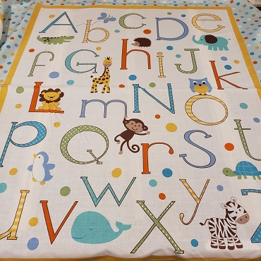 Alphabet Zoo Panel - Springs Creative