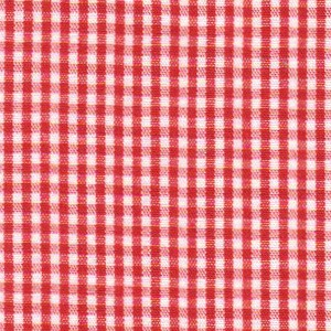 1/16 Gingham Red Berry Check Fabric