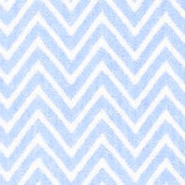Lt Blue Chevron by Fabric Finders