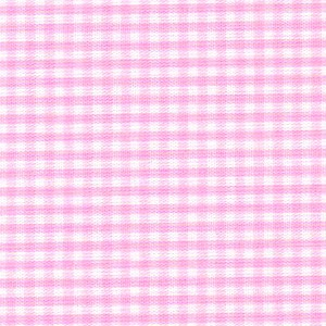 1/16 Gingham Bubblegum Pink Check Fabric