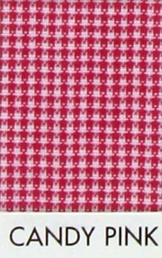 1/32  Gingham Micro Check  Poly Cotton Candy Pink - Spechler Vogel Textiles