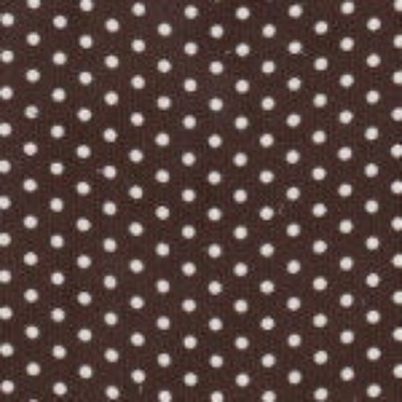 Brown Corduroy with WhiteDots by Fabric Finders