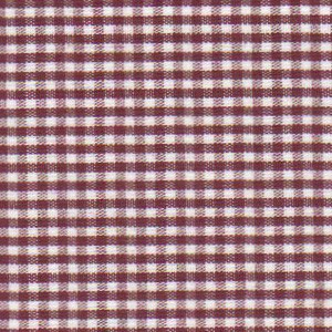 1/16 Crimson Check Fabric