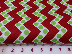 Christmas Chevron and Dots