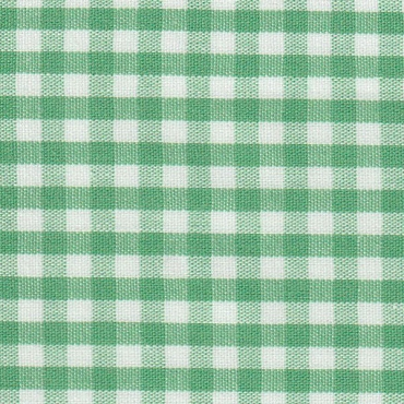 1/8 Gingham Emerald Check Fabric