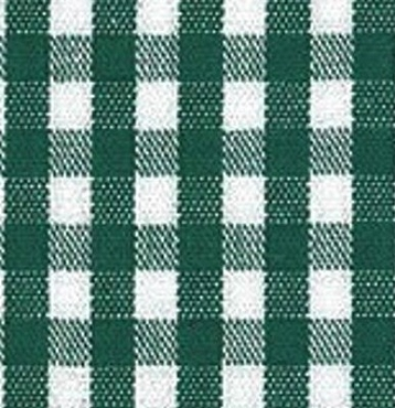 1/4 Gingham Hunter Check Fabric