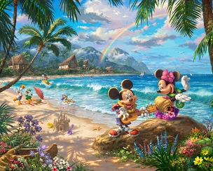 Disney Magic In Hawaii Panel 35.5x44