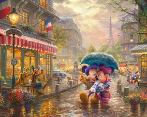Disney Magic In Paris Panel 35.5x44