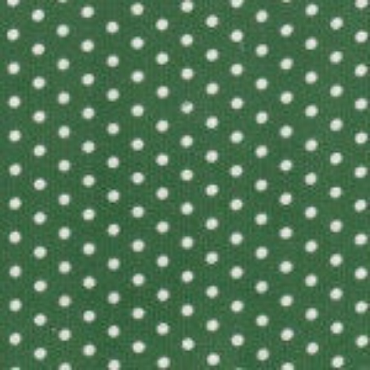 Kelly Green Corduroy with White Dots by Fabric Finders