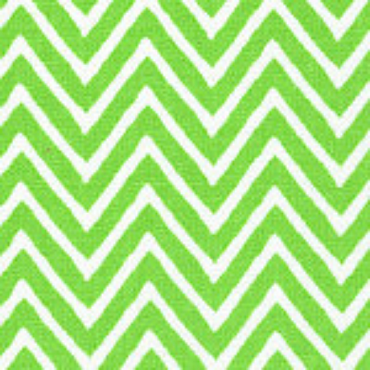 Lime Chevron by Fabric Finders #1283