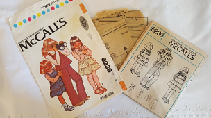 McCalls 6239 ~ Girls Ruffled Tiered Top or Dress and Pants ~ Size: 2 ~ 1978 ~ Vintage Pattern ~ Sewing Pattern ~ GRTODPAT