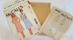 McCalls 6548 ~ Misses Pullover Dress Round Neck ~ Size: 12 ~ Dated 1979 ~ Vintage Pattern ~ Uncut Sewing Pattern ~ GRTLPAT