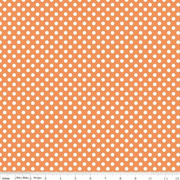 Small Orange Dots by Riley Blake