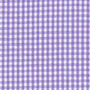 1/16 Gingham Grape Check Fabric
