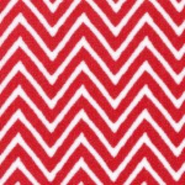 Red Chevron by Fabric Finders #1357