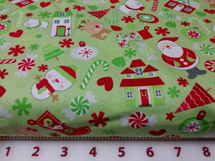 Home for the Holidays - Riley Blake Designs 0 C3970 Green