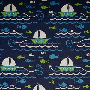 Sailboat Fabric  Print #1927