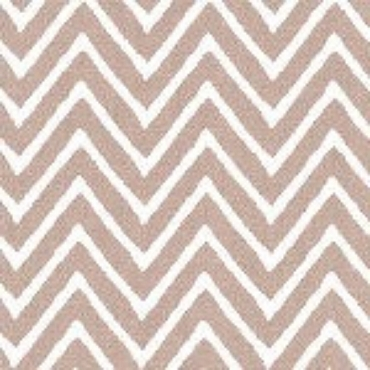 Khaki Chevron by Fabric Finders #