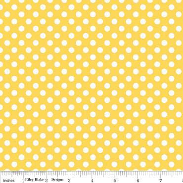 Small Yellow Dots by Riley Blake