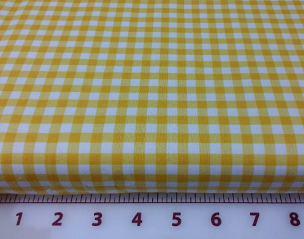 Yellow Medium Gingham -  Riley Blake  24