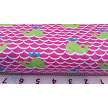 Pink Whale Fabric by Fabric Finders, Inc
