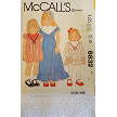 Vinaage McCalls 6832  ~  Childrens and Girls Dress  ~ Size: 10 ~ Dated 1979 ~ Vintage Pattern