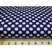 grape fabric with white dots
